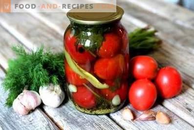 Marinēti tomāti ar ābolu sidra etiķi