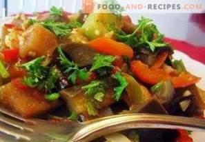 Kā pagatavot dārzeņu sautējumus