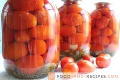 Marinēti tomāti ziemai
