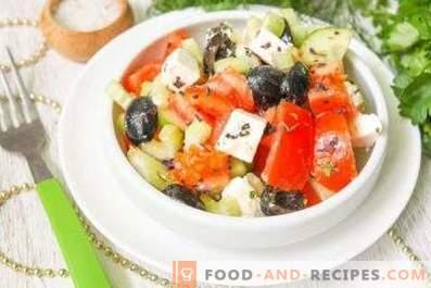 Grieķu salātu mērce