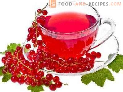 Sarkanu jāņogu sula ziemai