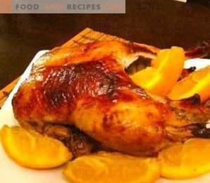 Canard entier cuit au four