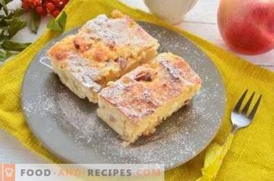 Bei welcher Temperatur soll Hüttenkäse gebackener Pudding gebacken werden