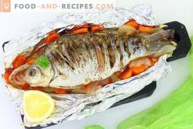 На каква температура да се пече риба