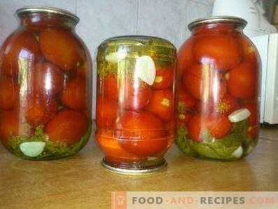 Tomaten königlich für den Winter