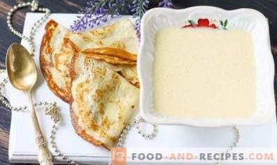 Тесто за палачинки на кефир