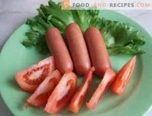 Como cozinhar salsichas
